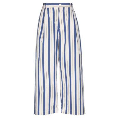 ソフィー・ドール SOFIE D'HOORE パンツ ブルー 40 コットン 100% パンツ