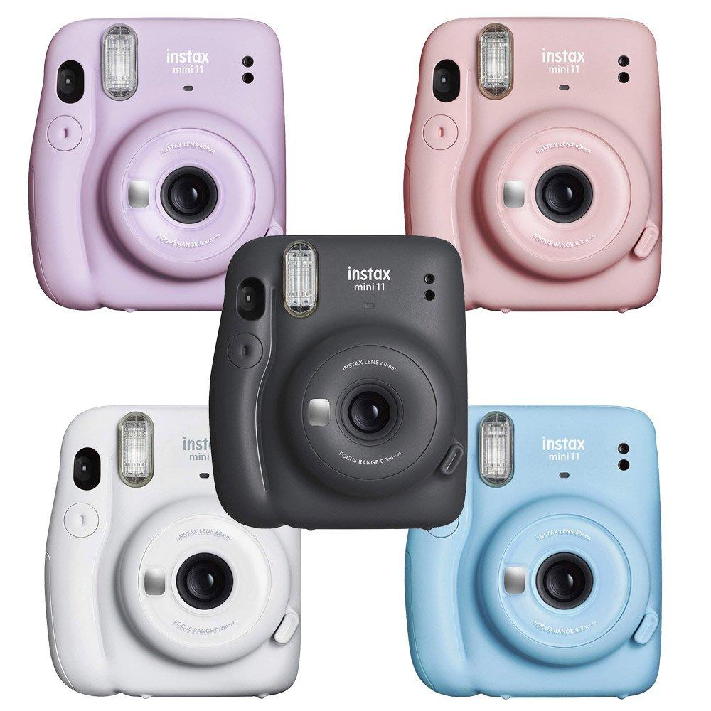 【底片x2+原袋+相本+保護套】FUJIFILM instax mini 11 拍立得 相機 (公司貨).