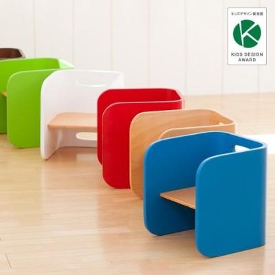 1年保証/完成品/使い方自由自在 キッズチェア 子供椅子 子供用椅子 コロコロシリーズ ColoColo(コロコロ) チェア単品 7色対応