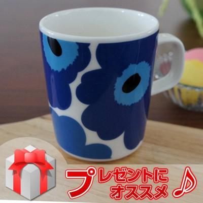 マリメッコ マグカップ UNIKKO(ウニッコ)/BLUE【店頭受取も可 吹田】