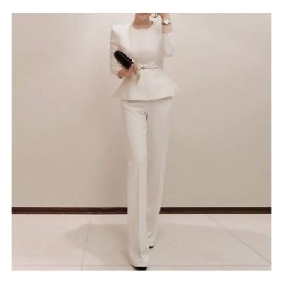 パーティードレス パンツドレス 結婚式 大きいサイズ ワイド セットアップ コーデ 安い おしゃれ パンツスーツ フォーマルドレス 二次会 体型カバー ブラウス