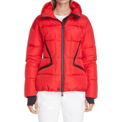 モンクレール MONCLER GRENOBLE レディース ダウン・中綿ジャケット アウター Dixence Water Repellent Down Puffer Ski Jacket Dark Red