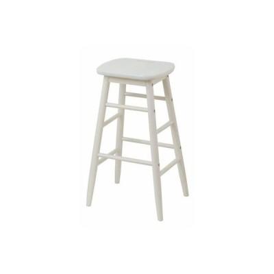 【納期目安:09/15入荷予定】市場(Marche) INS-2824-WH ine reno high stool (ホワイト) (INS2824WH)