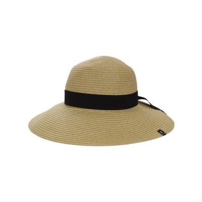 ウィッテム(HUITIEME) 【多少の傷汚れありの為大奉仕】PAPER BLADE HAT HU18S898SST001 BEG (レディース)