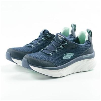 【フットプレイス】 スケッチャーズ SKECHERS D'LUX WALKER レディース スニーカー シューズ 靴 ランニング ウォーキング HI−149004 レディース ネイビー 23.5cm FOOT PLACE