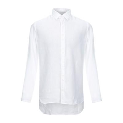 タケシ クロサワ TAKESHY KUROSAWA シャツ ホワイト S 麻 シャツ