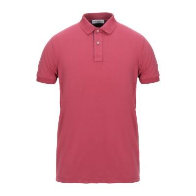 JOHN WELLINGTON ポロシャツ ガーネット 46 コットン 90% / ポリウレタン® 10% ポロシャツ