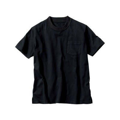 ジャケット専用綿クルーネック半袖Tシャツ Tシャツ・カットソー, T-shirts,