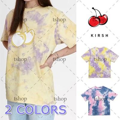 2枚目20%OFF キルシー Tシャツ KIRSH 3D BIG CHERRY T-SHIRTS JH  ビッグ チェリー Tシャツ カットソー 半袖 夏 クルーネック トップス