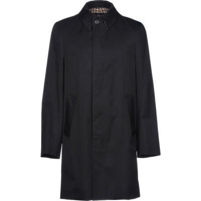 アクアスキュータム AQUASCUTUM メンズ コート アウター Full-Length Jacket Dark blue