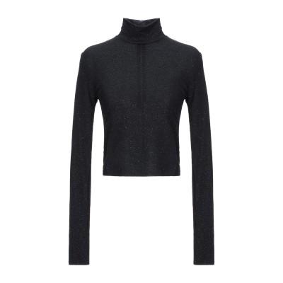 アリス・アンド・オリビア ALICE + OLIVIA T シャツ ブラック M ポリエステル 95% / エコニール® 5% T シャツ