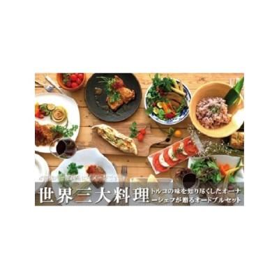 ふるさと納税 世界三大料理トルコの味を知り尽くしたオーナーシェフが贈るオードブルセット(パーティーセット) 和歌山県白浜町
