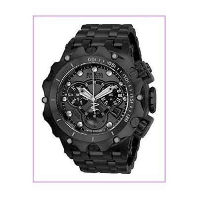 Invicta メンズ リザーブ クォーツ 腕時計 ステンレススチールストラップ ブラック 31 (モデル:27795)