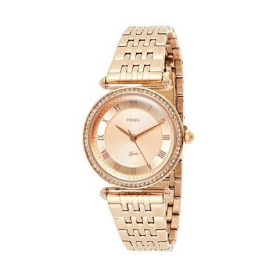 Fossil Women's Lyric Rose Gold Dial Watch - ES4711(並行輸入品)