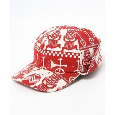 帽子 キャップ FABRICK HENRIK HUNTING CAP BLACK