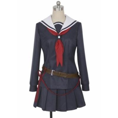 武装少女マキャヴェリズム    鬼瓦輪(おにがわら りん)     風   コスプレ衣装  ★完全オーダメイドも対応可能 * K4493