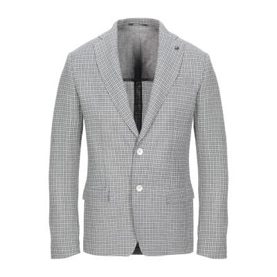 HAVANA & CO. テーラードジャケット グレー 48 リネン 57% / ナイロン 24% / コットン 19% テーラードジャケット