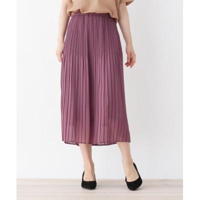 SHOO・LA・RUE/DRESKIP(シューラルー/ドレスキップ) 【M-L】グラデーションプリーツジョーゼットスカート