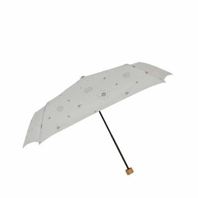 小川(Ogawa) 折りたたみ傘 雨晴兼用雨傘 手開き 55cm 5本骨 teno?/Nature ふわふわの旅人 UV加工 鳥型飾りボタン付き