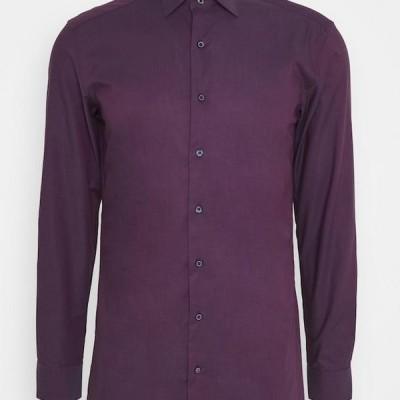 メンズ ファッション CLASSIC SLIM FIT - Formal shirt - dark purple