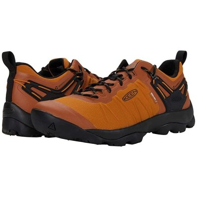 キーン Venture Waterproof メンズ Hiking Pumpkin Spice/Black