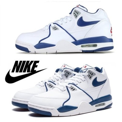 Nike ナイキ Air Flight 89 / White & Royal Blue / 取寄品