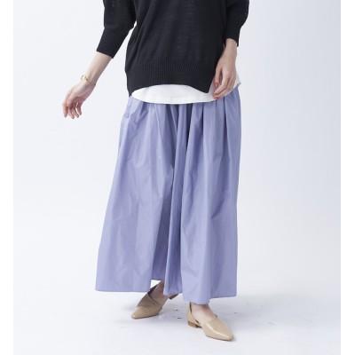 【ルージュ・ヴィフ ラクレ/Rouge vif la cle】 【BRAHMIN】タフタフレアスカート