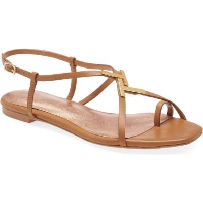 テッドベーカー TED BAKER LONDON レディース サンダル・ミュール シューズ・靴 Lerinal Sandal Light Brown Leather