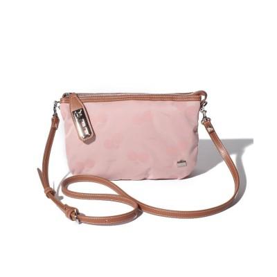 (LA BAGAGERIE/ラ バガジェリー)LA BAGAGERIE × a-jolie コラボ ひねり金具お財布ポシェット/レディース ピンク