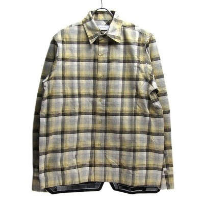 FACETASM ネルチェックシャツ ベージュ サイズ:5 (代官山店) 210107