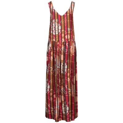 マニラ グレース MANILA GRACE ロングワンピース&ドレス ブラウン 38 レーヨン 100% ロングワンピース&ドレス