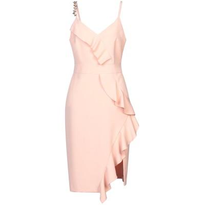 コッカ KOCCA ミニワンピース&ドレス ライトピンク M ポリエステル 89% / ポリウレタン 11% ミニワンピース&ドレス