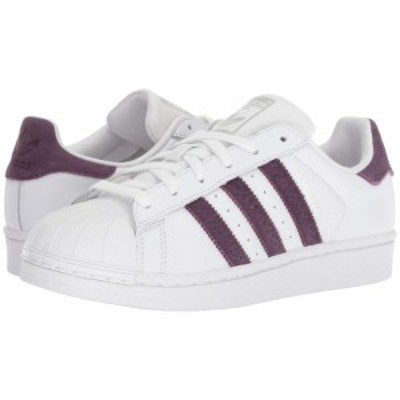 アディダス adidas Originals レディース スニーカー シューズ・靴 Superstar W White/Red Night/Silver Metallic