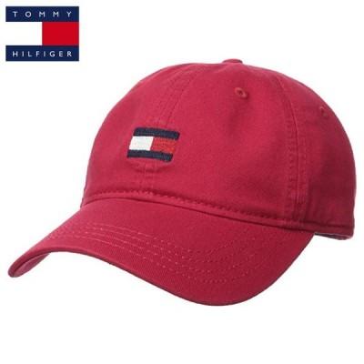 トミーヒルフィガー ベースボールキャップ 帽子 CAP HAT TOMMY HILFIGER t528 バーガンディ