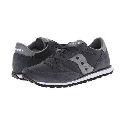 Saucony Originals サッカニー メンズ 男性用 シューズ 靴 スニーカー 運動靴 Jazz Low Pro - Charcoal/Grey