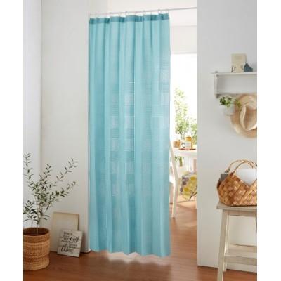 【新色追加♪】パタパタたためて幅丈調節出来るパーテーションカーテン のれん・カフェカーテン, Curtains(ニッセン、nissen)