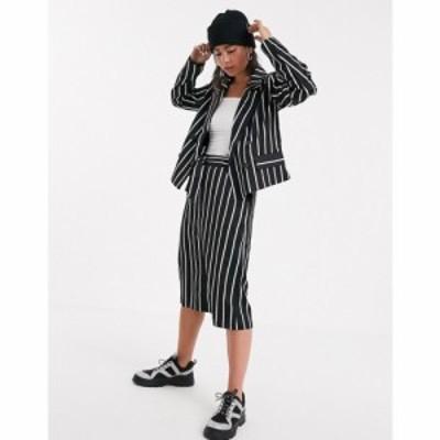ケイフ Kaffe レディース スカート スカートスーツ stripe suit skirt