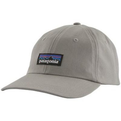 パタゴニア メンズ 帽子 アクセサリー Patagonia P-6 Label Trad Cap Drifter Grey