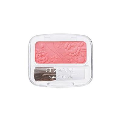 セザンヌ化粧品 ナチュラルチークN 15 クリアレッド (1個) パウダーチーク