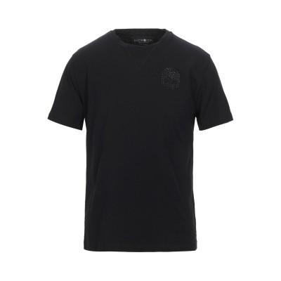 ハイドロゲン HYDROGEN T シャツ ブラック S コットン 50% / ポリエステル 50% T シャツ