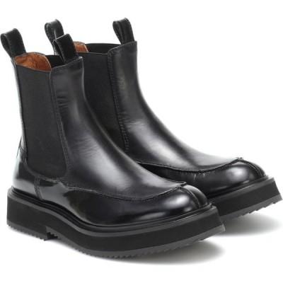 ジョゼフ Joseph レディース ブーツ チェルシーブーツ シューズ・靴 leather chelsea boots Nero