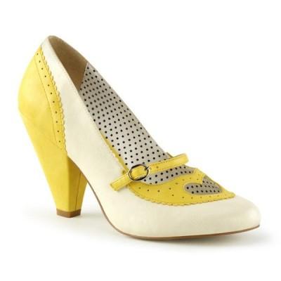 取寄せ靴 送料無料 PLEASER プリーザー パンプス 9.5cmヒール 大きいサイズあり