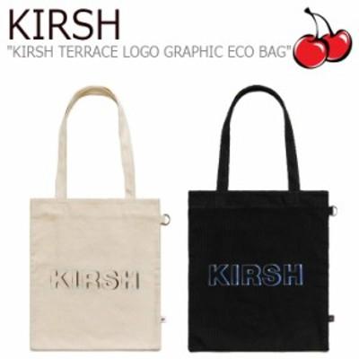 キルシーポケット ムシンサテラス トートバッグ KIRSH POCKET MUSINSA TERRACE LOGO GRAPHIC ECO BAG テラスロゴ MT20SA00333/4 バッグ