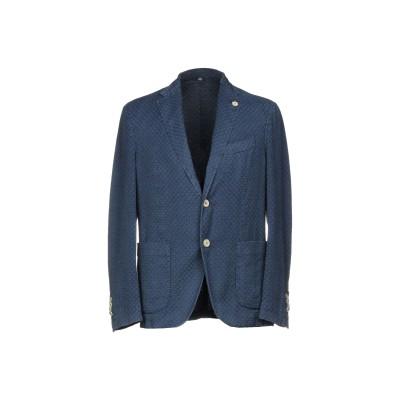 FRADI テーラードジャケット ブルーグレー 50 コットン 75% / 麻 25% テーラードジャケット