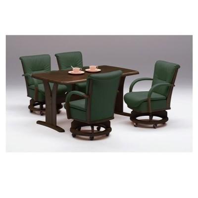 〔チェア別売り〕ダイニングテーブル/リビングテーブル 〔長方形/幅150cm〕 ブラウン 『サム』 木製 4人掛け 木目調〔玄関渡し〕〔代引不可〕