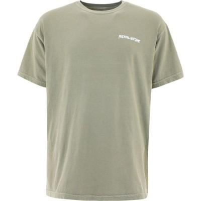 """ファッキングオーサム Fucking Awesome メンズ Tシャツ トップス """"Society"""" T-Shirt Green"""