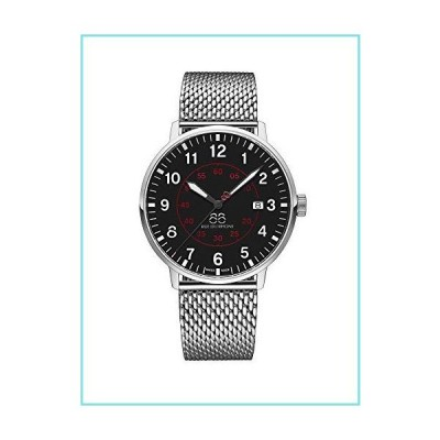 88 Rue du Rhone Swiss Quartz Newold Collection Men's Watch 87WA184001 Black Dial【並行輸入品】
