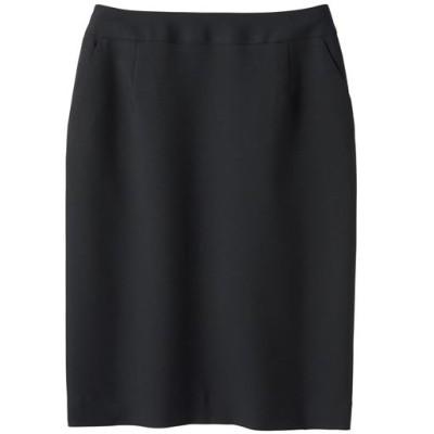 タイトスカート(選べる2レングス・接触冷感・吸汗速乾・洗濯機OK)/ブラック/70-95(総丈60)
