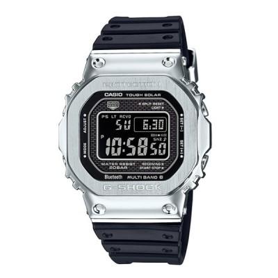 G-SHOCK Gショック ジーショック カシオ CASIO デジタル 腕時計 電波 ソーラー スマートフォンリンク ブラック シルバー GMW-B5000-1JF 国内正規モデル