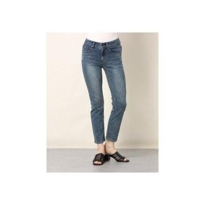 ゲス GUESS Ladies Denim Pants Slim Straight (MEDIUM BLUE)
